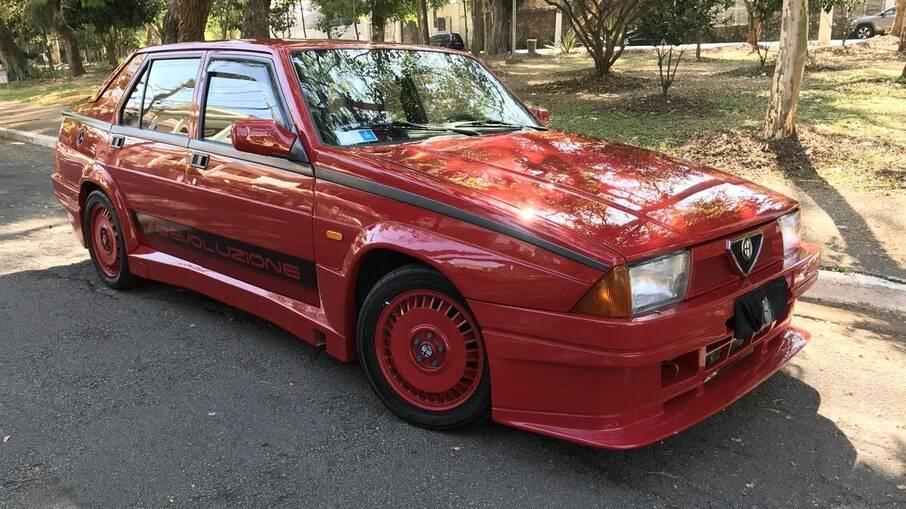 Para muitos, o 75 Turbo é considerado o último Alfa Romeo por ter sido o derradeiro modelo da marca com tração traseira