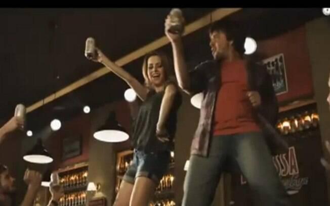 Sandy chegou a dançar