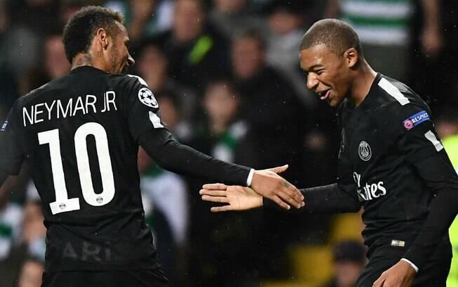 253997bd20 Neymar Jr. e Kylian Mbappé somam juntos R  1