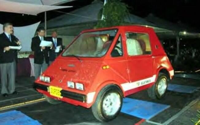 Gurgel Itaipu na apresentação, em 1974. Um carro 100% nacional que já mostrava a importância da eletrificação