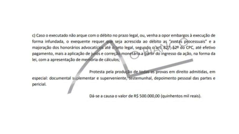 Mumuzinho cobra R$ 500 mil de Davizinho na Justiça