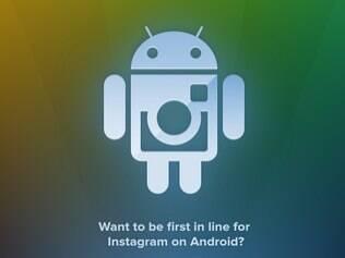 Site de cadastro pergunta se o usuário quer ser o primeiro na fila do Instagram para Android