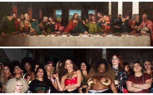 Fotos de famosos que parecem obras de arte
