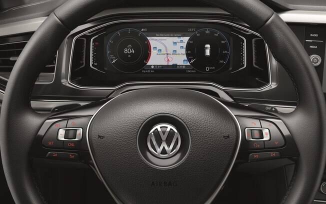 Painel digital: tecnologia de Audi TT em um carro de R$ 75 mil, permite configuração conforto o gosto do freguês