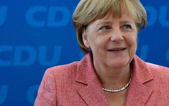 Angela Merkel disse que o