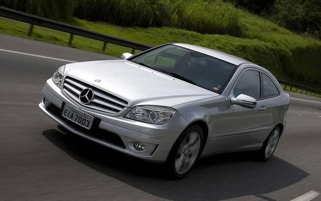 Mercedes-Benz CLC 200K tem o design mais esportivo entre os carros usados de luxo. Foi montado no Brasil