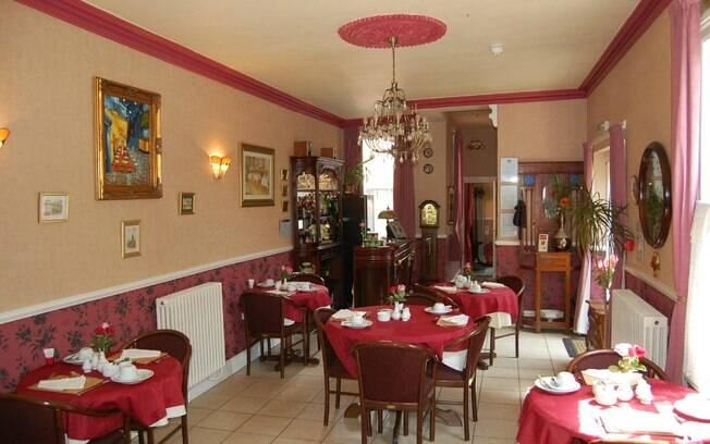 A pousada Creston Villa Guest House fica em Lincoln, no Reino Unido, e já recebeu vários turistas brasileiros