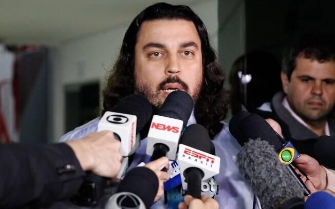 Danilo Garcia, terceiro advogado de Najila Trindade que seria responsável pelo sumiço do celular