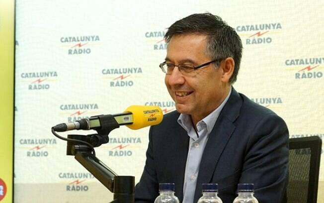 O presidente do Barcelona afastou os rumores de Neymar no Barcelona