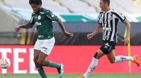 Palmeiras e Santos se enfrentam