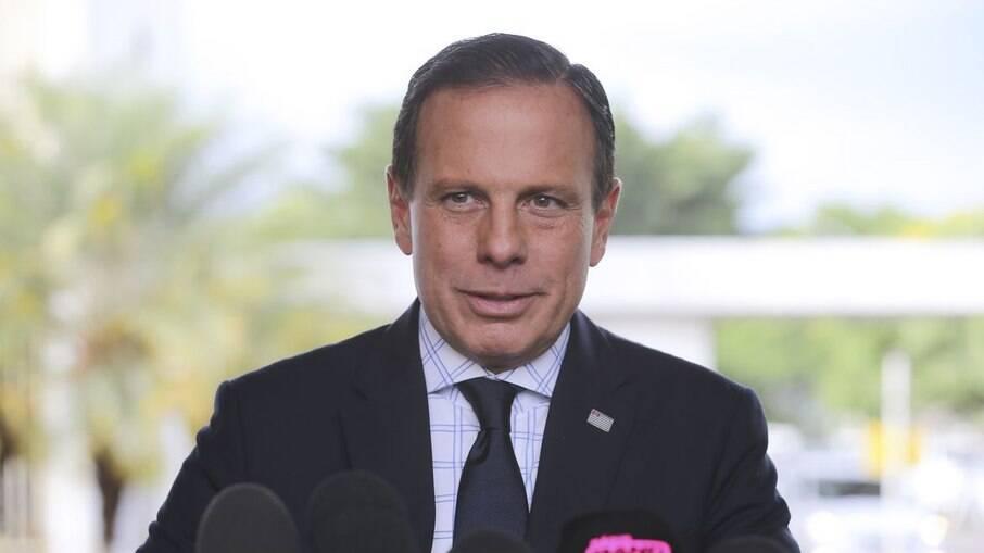 Governador de São Paulo João Dória (PSDB)