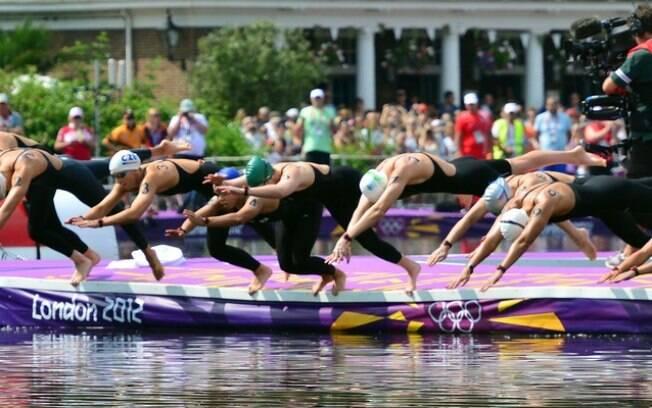 Maratonas aquáticas nos Jogos Olímpicos
