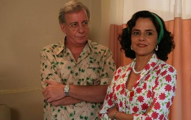 Lineu e Nenê na temporada 2007 de