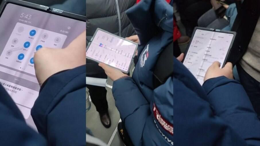 Celular dobrável da Xiaomi vazou nas redes sociais chinesas