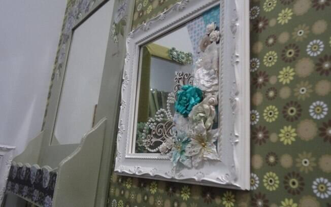 decoracao banheiro velho : decoracao banheiro velho:Quer trazer romantismo à decoração? Aproveite botões e enfeites de