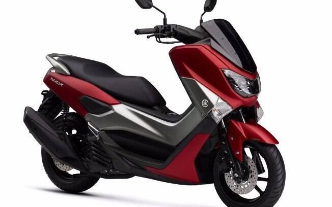 Yamaha NMAX 160 ABS da linha 2018 mantém inalterada a parte mecânica, mas ganha mudanças no visual