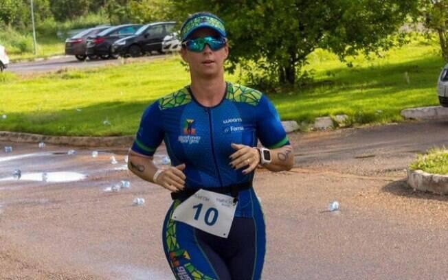 Ludimila Barbosa teve que amputar o pé esquerdo após o acidente de domingo. Ela não resistiu aos ferimentos