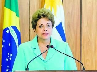 Prognósticos.  Presidente Dilma evitou fazer previsões sobre a votação do ajuste fiscal no Senado