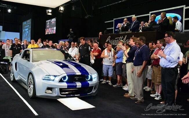 Ford Mustang GT usado nas gravações de