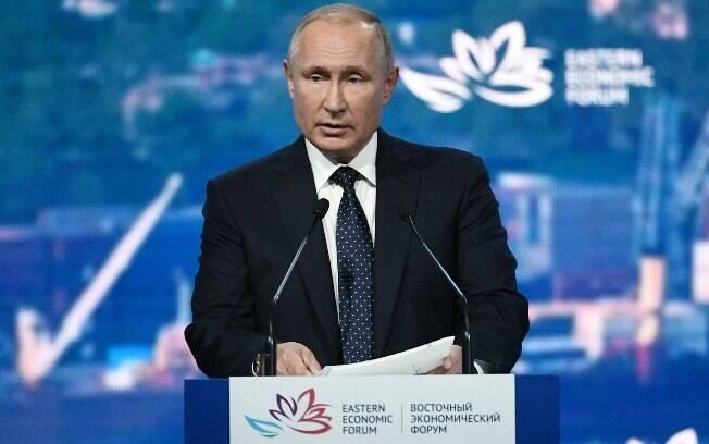Putin disse que Rússia vai produzir novos mísseis nucleares antes banidos em tratado com EUA