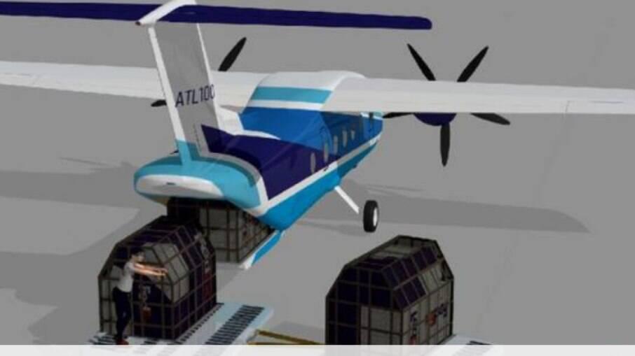 Capacidade para 19 passageiros ou 2.500 kg
