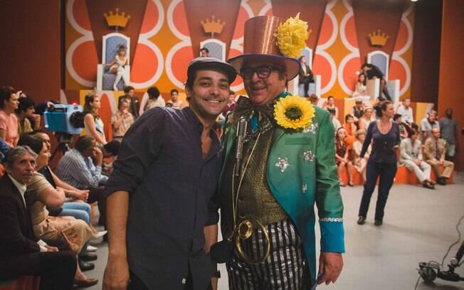 Chacrinha será interpretado por dois atores no filme. Longa-metragem estreia nas telas do cinema na reta final do mês de outubro
