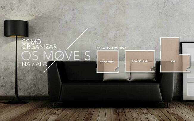 Conheça diferentes possibilidades de disposição das peças e saiba como otimizar o espaço dos ambientes