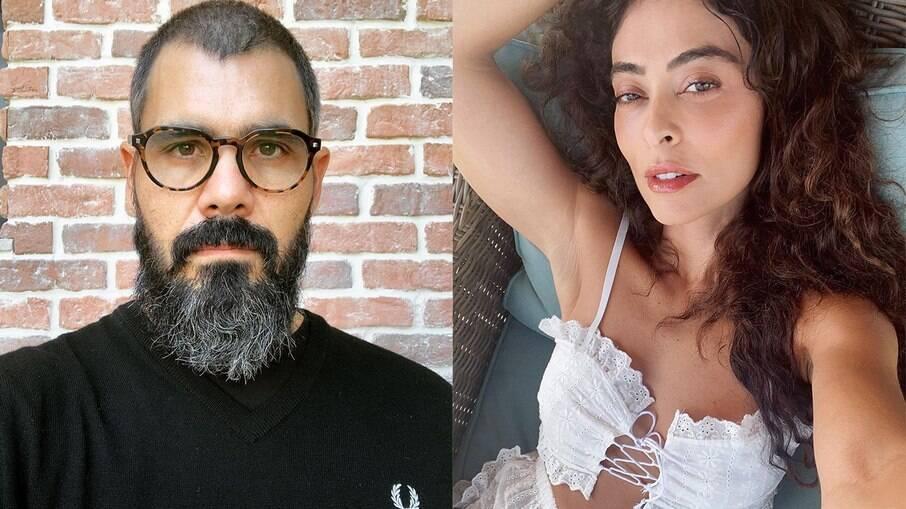 Juliano Cazarré e Juliana Paes