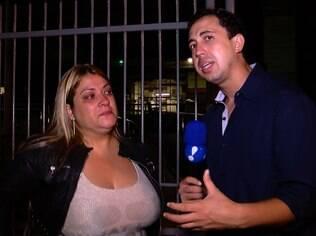 Marisete, mãe de Urach, concede entrevista a Thiago Rocha, do 'MuitoShow'