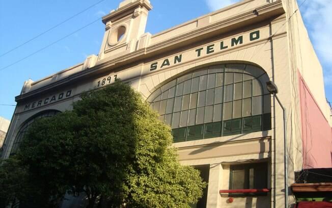 Mercado de San Telmo, um dos bairros mais históricos de Buenos Aires
