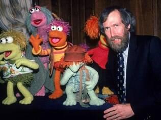 Henson e seus Muppets, em 1983