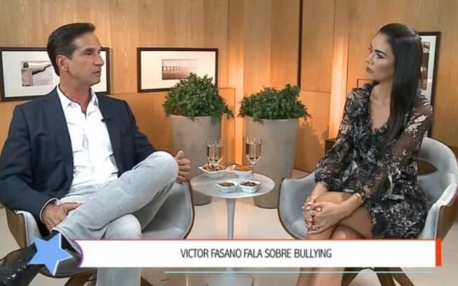 Victor Fasano fala da vida pessoal ao