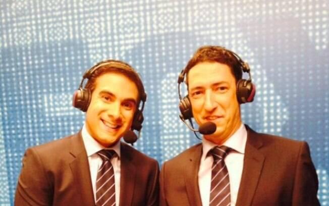 Gustavo Villani e PVC estão no Grupo Globo