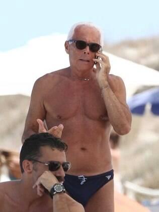 Giorgio Armani: 77 anos com tudo em cima