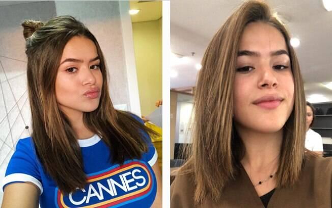 Maisa é uma das famosas que mudaram o visual em 2018