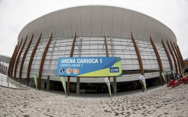 Arena Carioca 1, entregue na semana passada