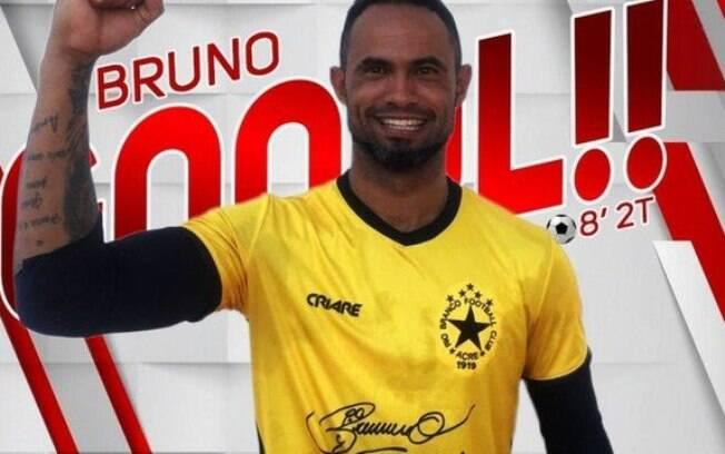 Perfil do Rio Branco comemorou gol do goleiro Bruno