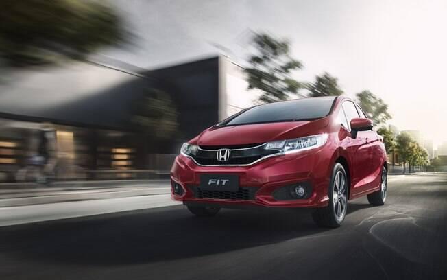 Honda Fit 2019 passa a ter novo tom de vermelho entre as novidades da nova linha do modelo da marca japonesa