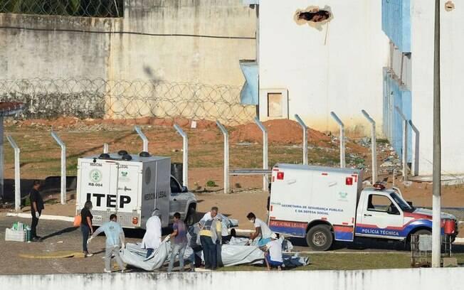 Penitenciária de Alcaçuz é palco de mais uma onda de violência na madrugada deste domingo (19)