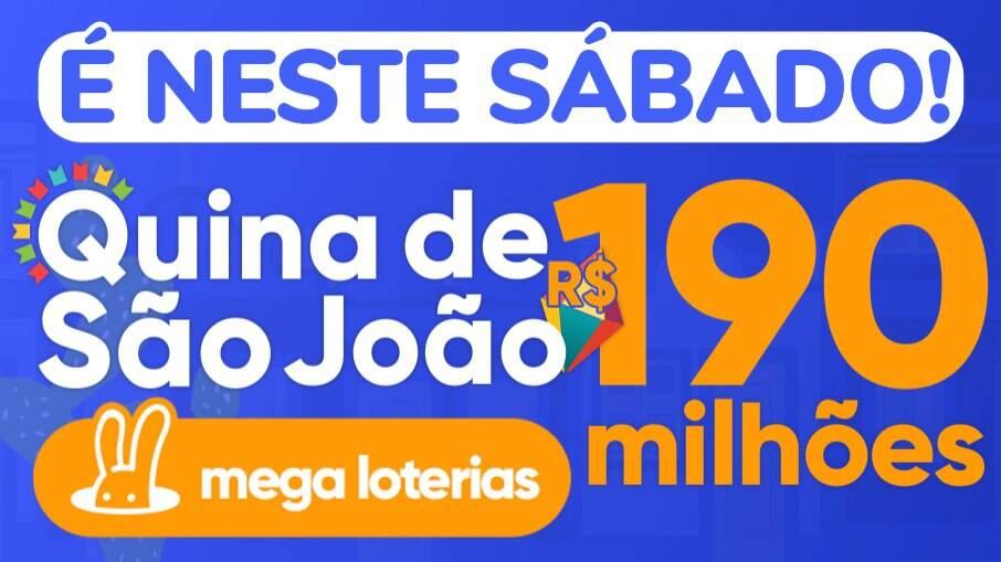 Aposte em grupo na Quina de São João e aumente chances de ganhar R$ 190  milhões | Loterias | iG