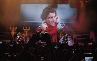 Judas Priest faz homenagem a Ayrton Senna durante show