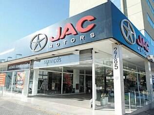 Loja da Jac Motors, na Barão Homem de Melo, fechou as portas