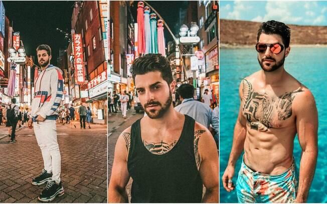Homens mais bonitos 2018! Alok, DJ brasileiro, faz subir a temperatura com suas tatuagens e corpo definido - além do talento na música