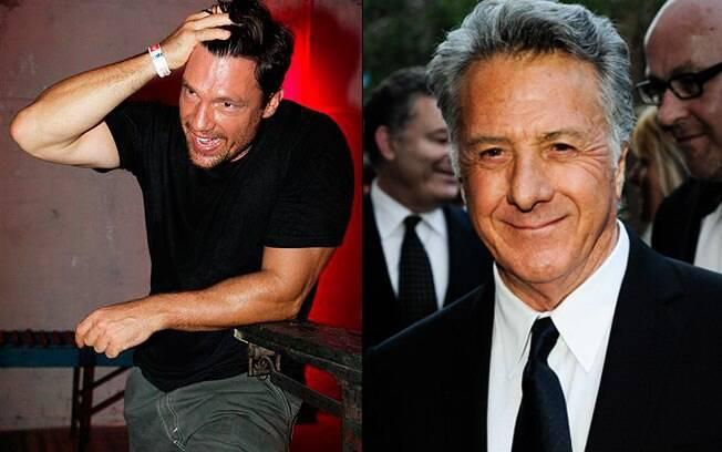 Ricardo Macchi e Dustin Hoffman: astros da nova propaganda de uma marca de carros