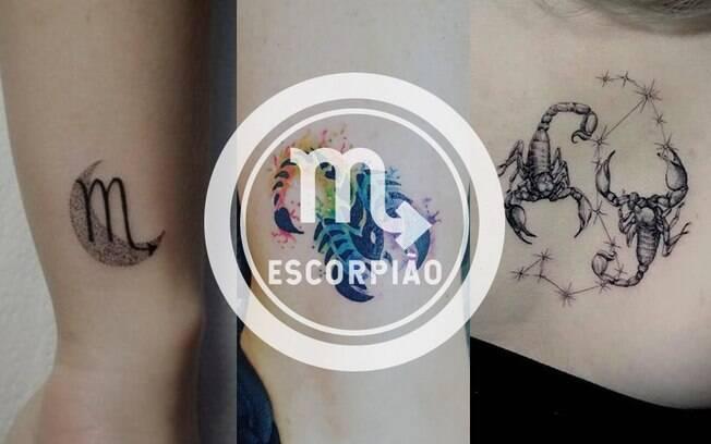 Tatuagem de Escorpião: 14 inspirações de tattoo do signo