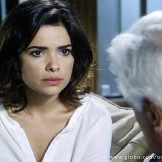César aceita sugestão de Aline e tenta subornar Atílio