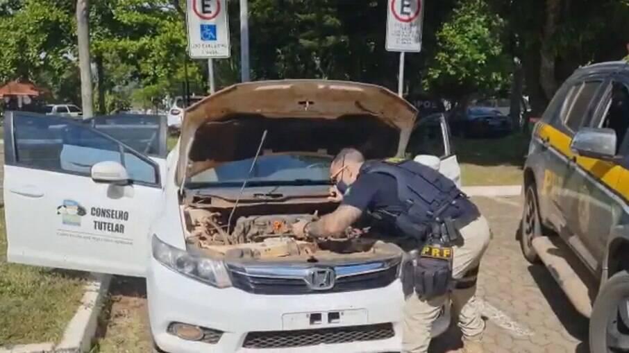 Motorista do veículo encontrava-se com a habilitação vencida