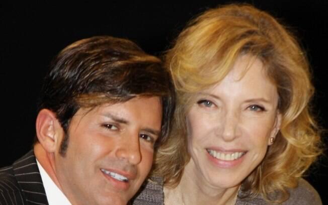 Dr. Rey com Marilia Gabriela
