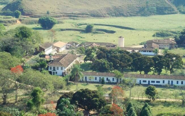 Vista aérea da Fazenda São Fernando, onde os trabalhadores foram mantidos em condições análogas à escravidão