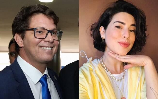 Mário Frias e Fernanda Paes Leme